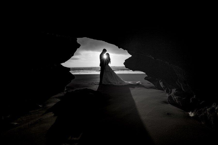 Wedding photography on beach in Agadir