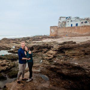 Engagement Photoshoot in Essouaria Morocco, Essaouira photographer