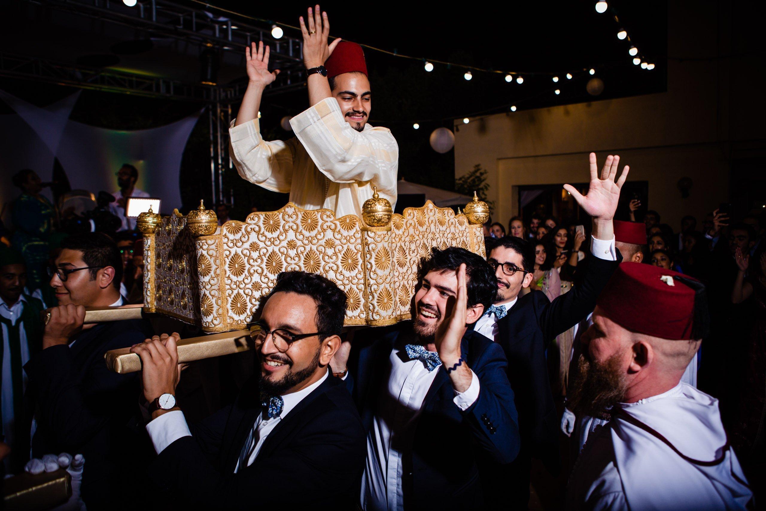 Wedding photography in Rabat for traditional Moroccan wedding