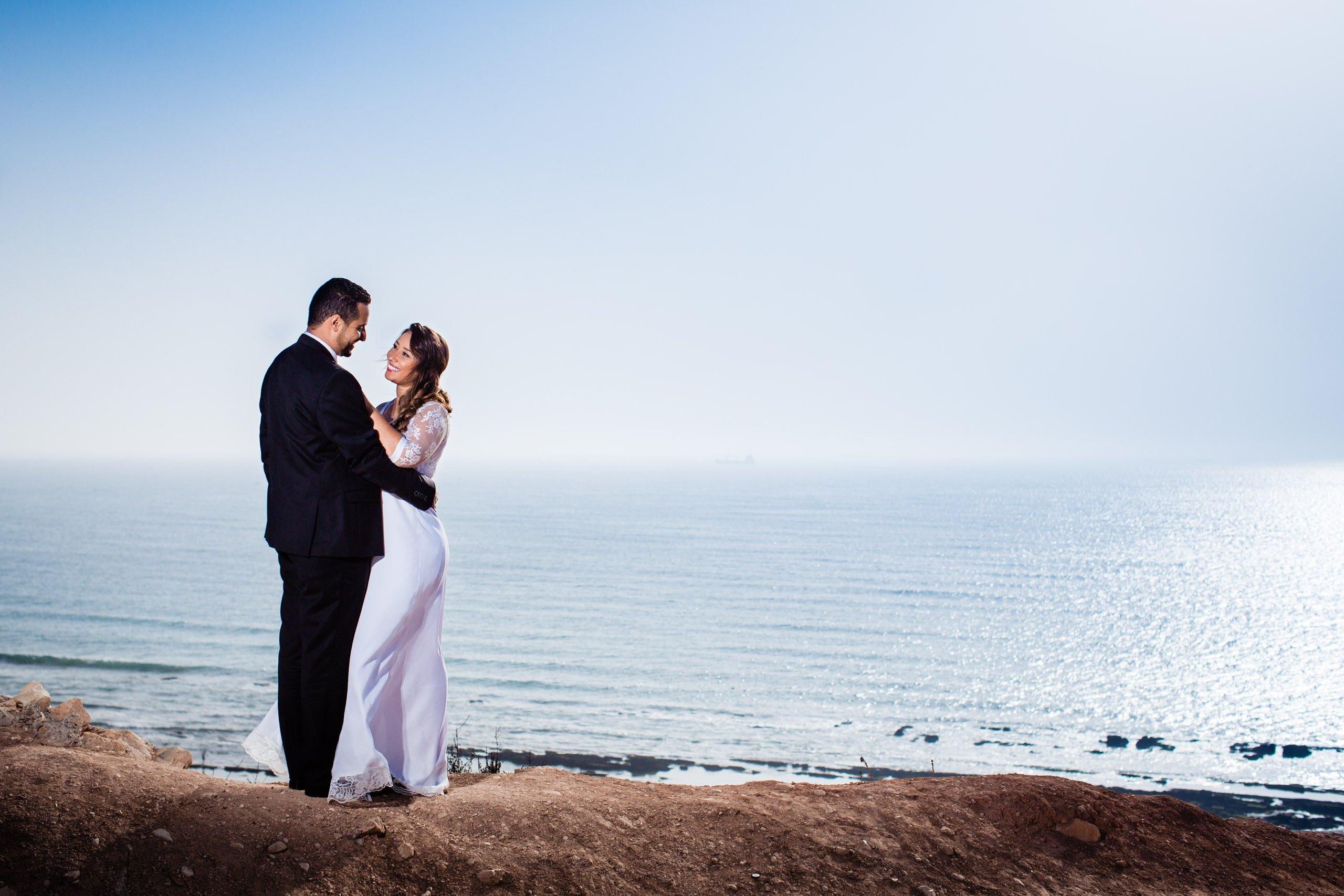 Couple photoshoot on Agadir beach
