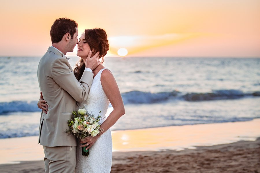 beautiful beach wedding photography in Agadir