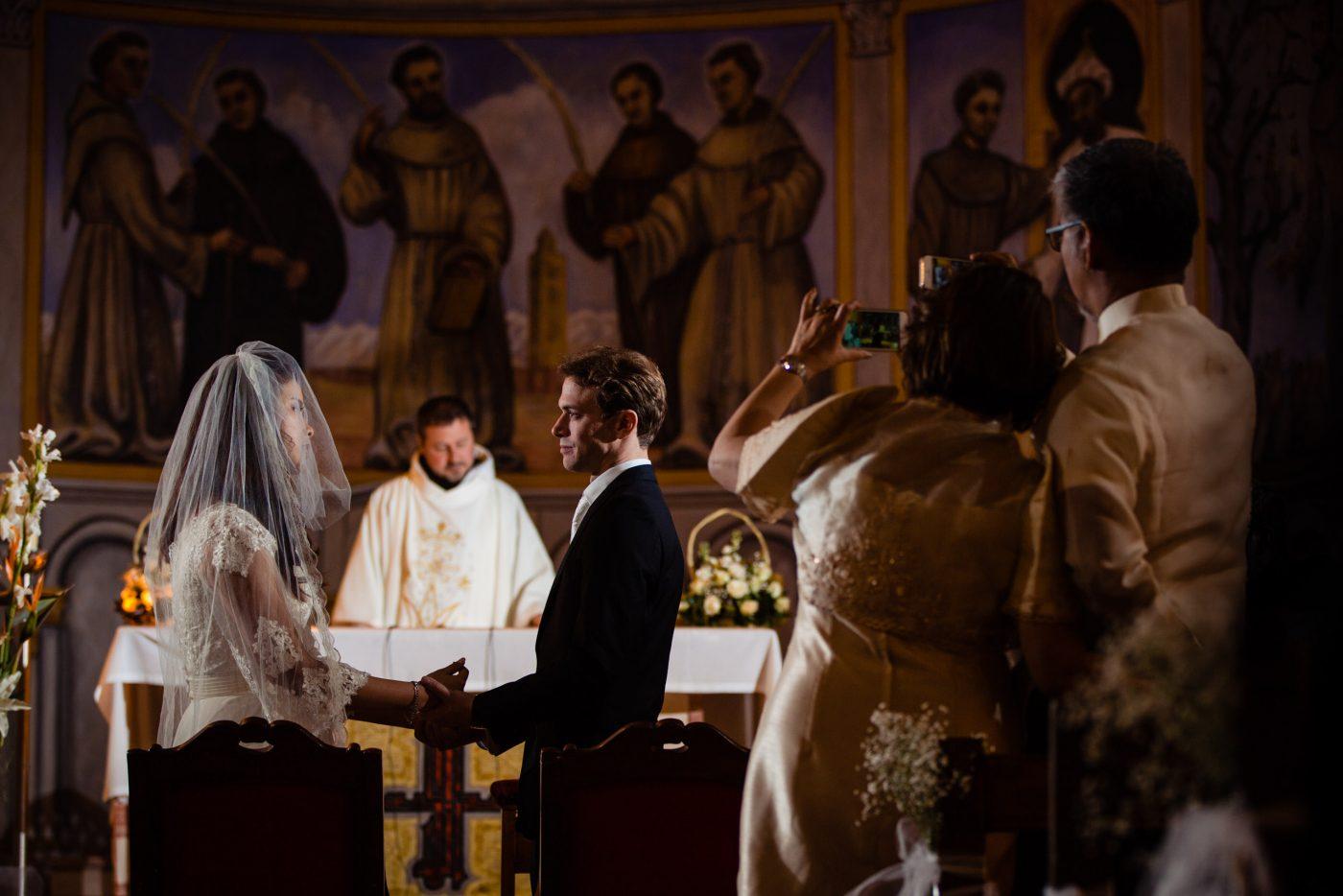 Church wedding photos in Marrakech